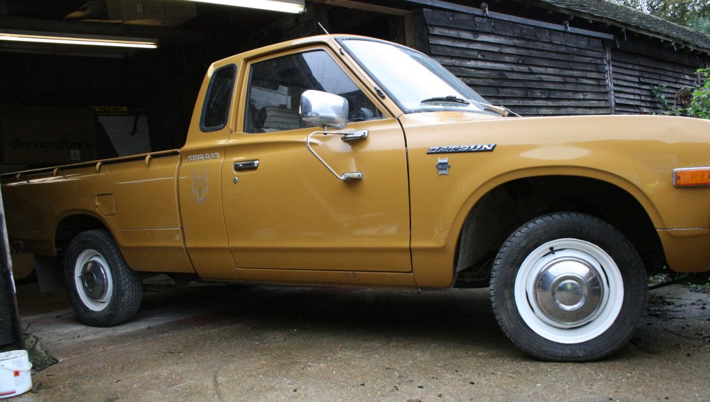 1976 Datsun King Cab 620 pickup! LHD £4500 SOLD Sussex ...