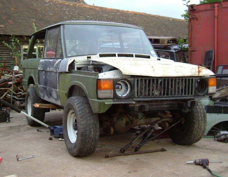 Im Building A Range Rover Hybrid WDWD FWH Nissan Diesel - Range rover forum