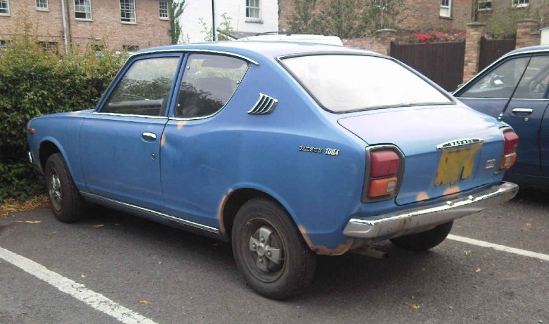 1972 Datsun 100A 2 door £1295 Sussex | Retro Rides