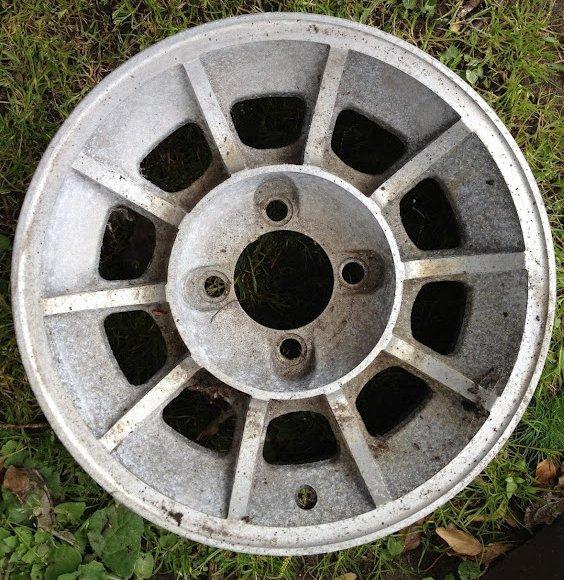 American Racing Vector GENERAL LEE wheels Refurb | Retro Rides